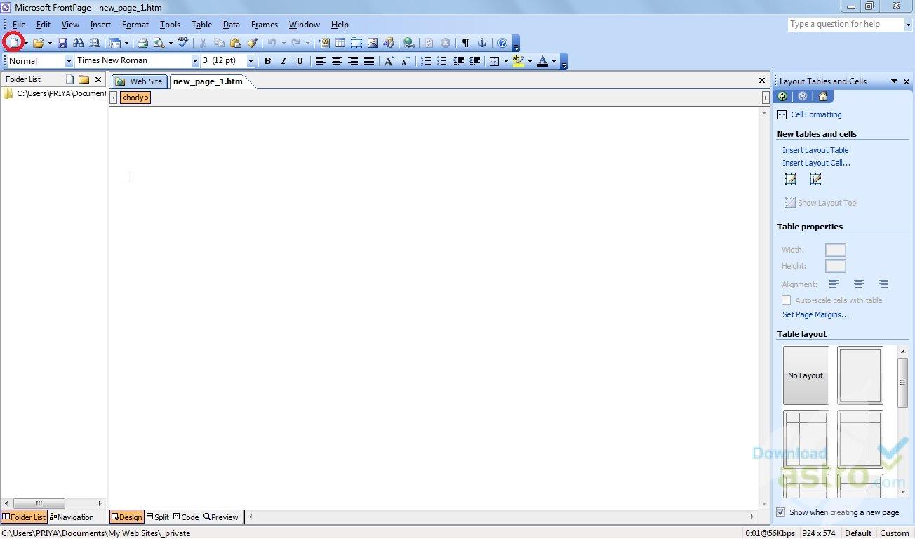 Скачать программу microsoft office frontpage